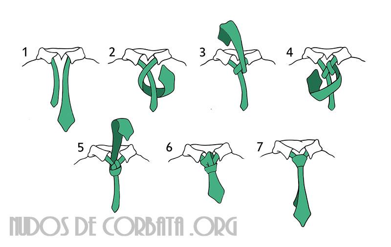 Nudo de corbata paso a paso como hacer nudo de corbata for Nudo de corbata windsor