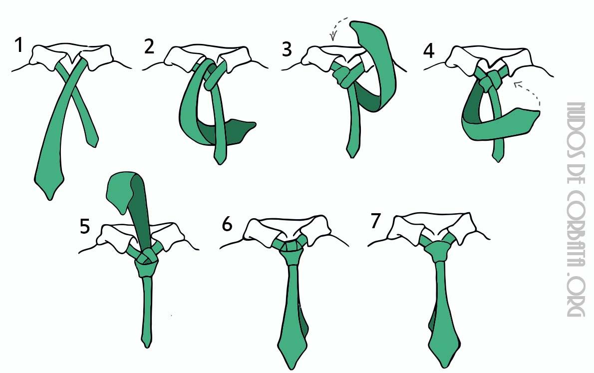 Como hacer un mono de una corbata for Nudo de corbata windsor